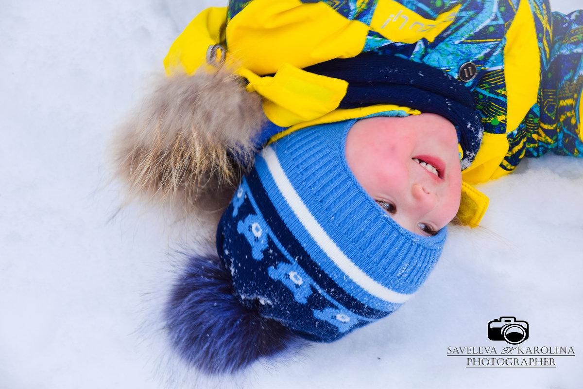 Детская фотосессия - Каролина Савельева