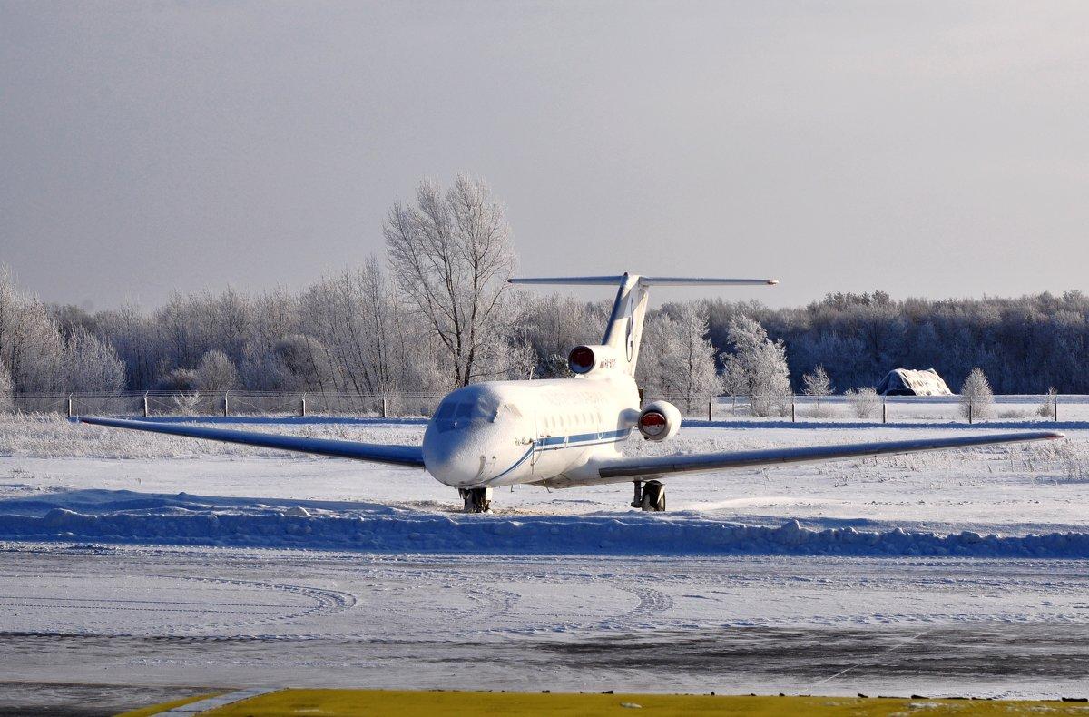 зима на аэродроме - vg154