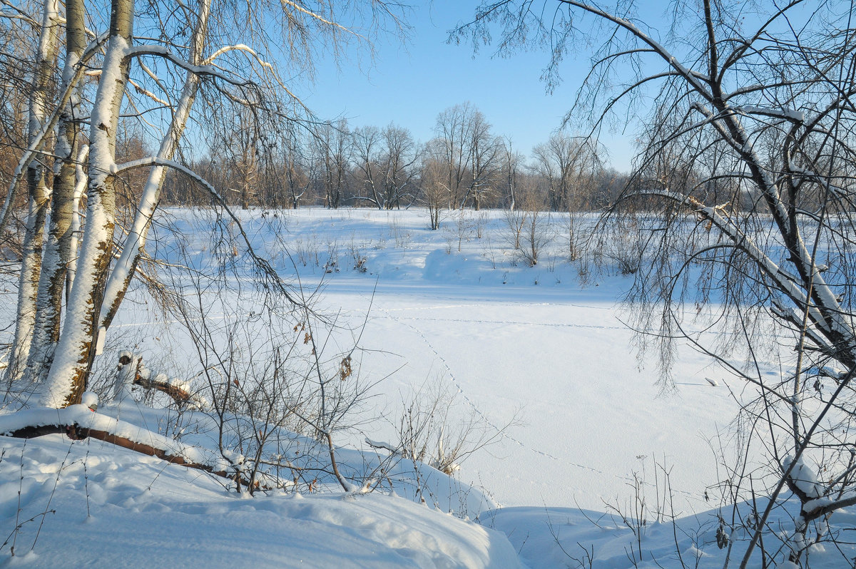 Зимняя река Дема - Сергей Тагиров