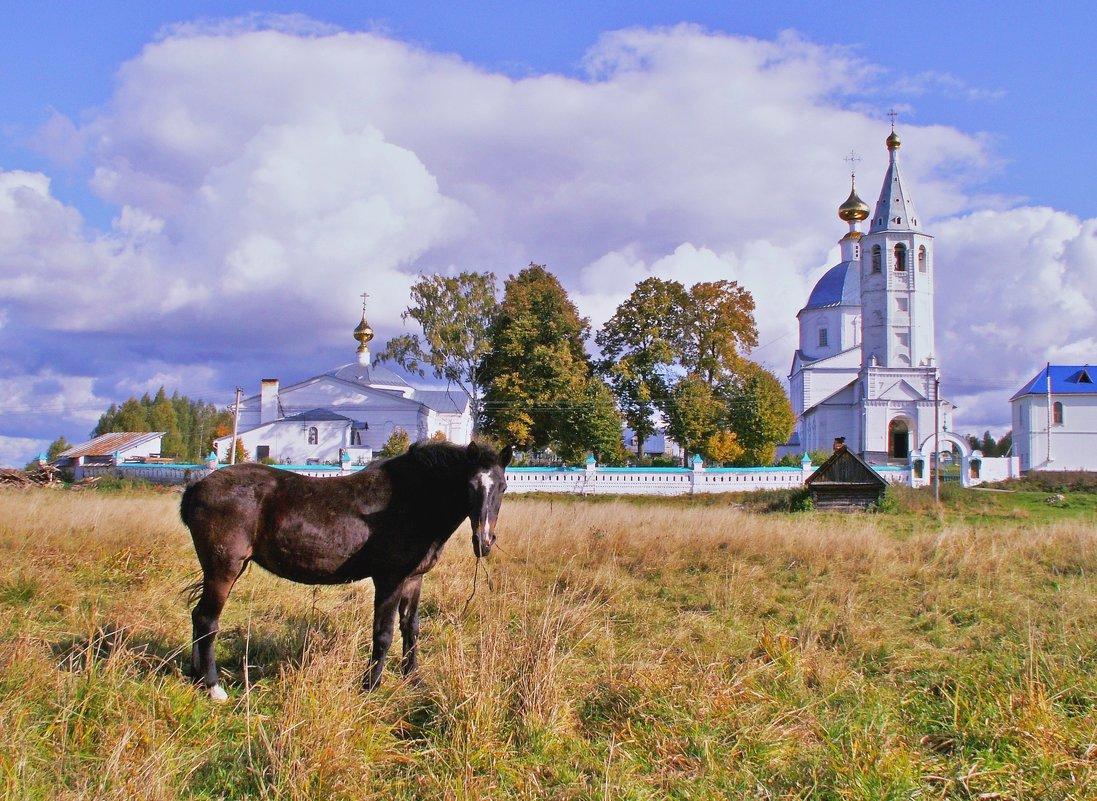 Монастырское утро - Елена Малкова