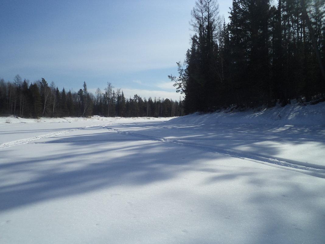 Зима - Надежда Малинкина