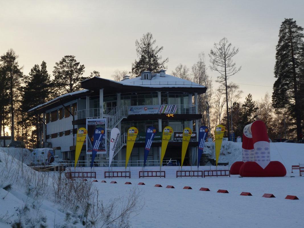 Ангарский лыжнобиатлонный комплекс - Галина