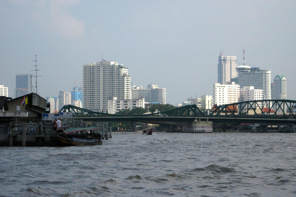 Центр Бангкока и река Квай. - Лариса (Phinikia) Двойникова