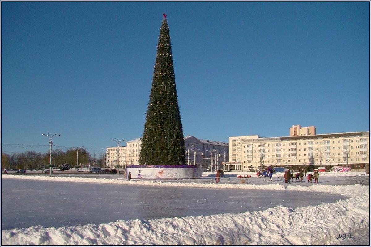 Морозный Рождественский день. - Роланд Дубровский