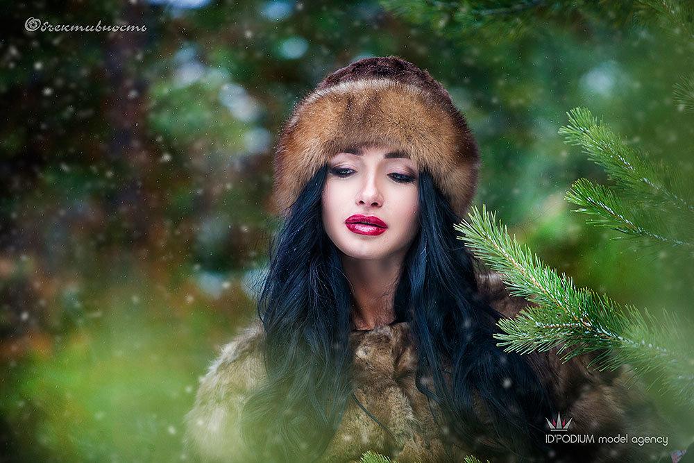 In winter forest - Фотостудия Объективность