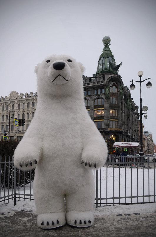 Медведь на Невском - Наталья Левина