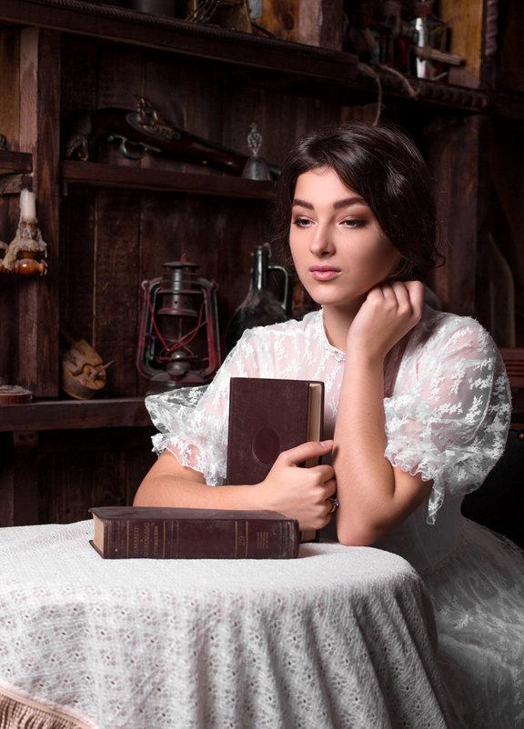 Девушка с книгами - Альберт