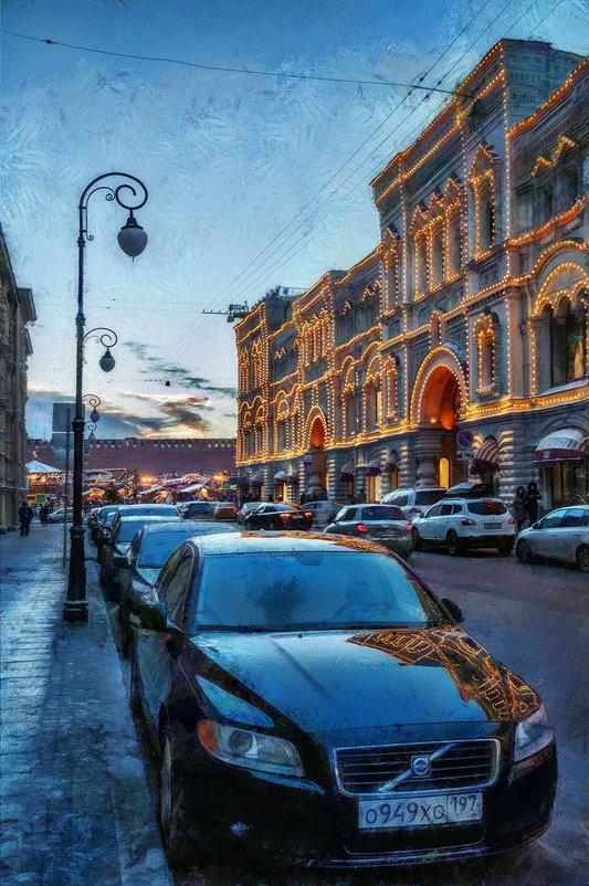А в синем лунном свете - холод пронизывает город - Ирина Данилова