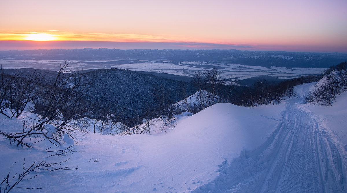 По снегоходным трассам Сахалина - Артём Удодов