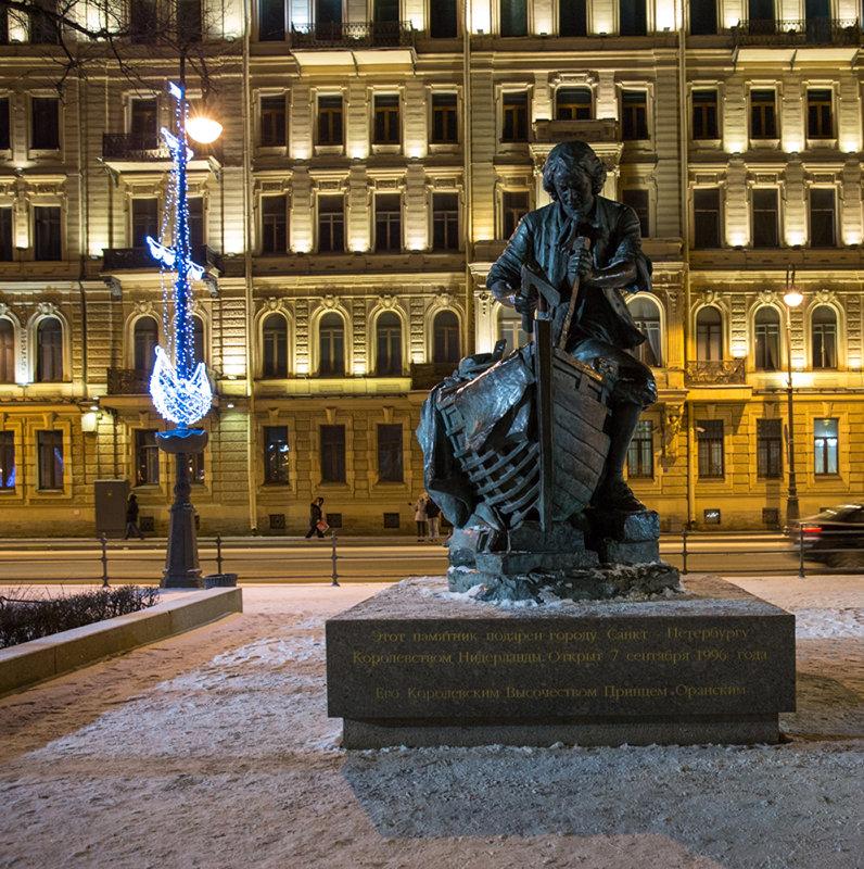 Санкт-Петербург - 2017 Памятник Петру I на Дворцовой набережной - Елена Барбарич