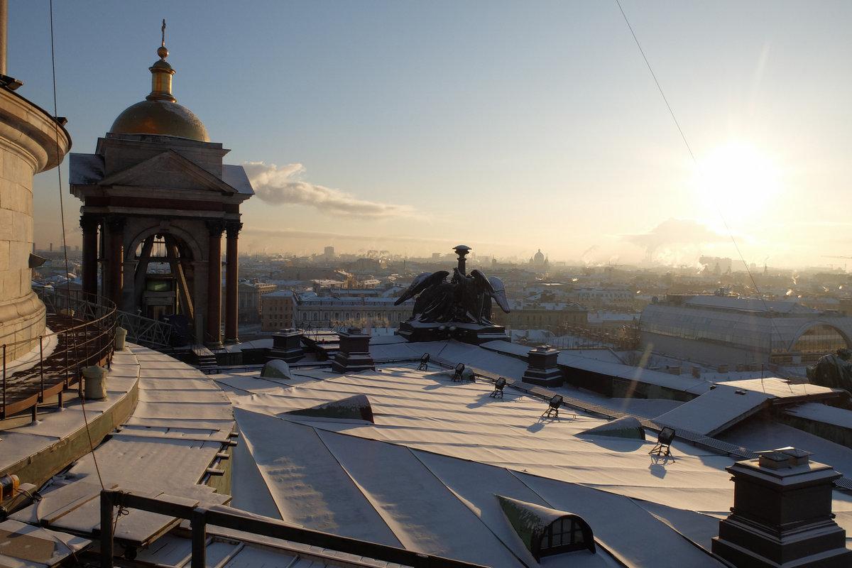 Минус 22.. или на 50 метров ближе к солнцу..)) - tipchik