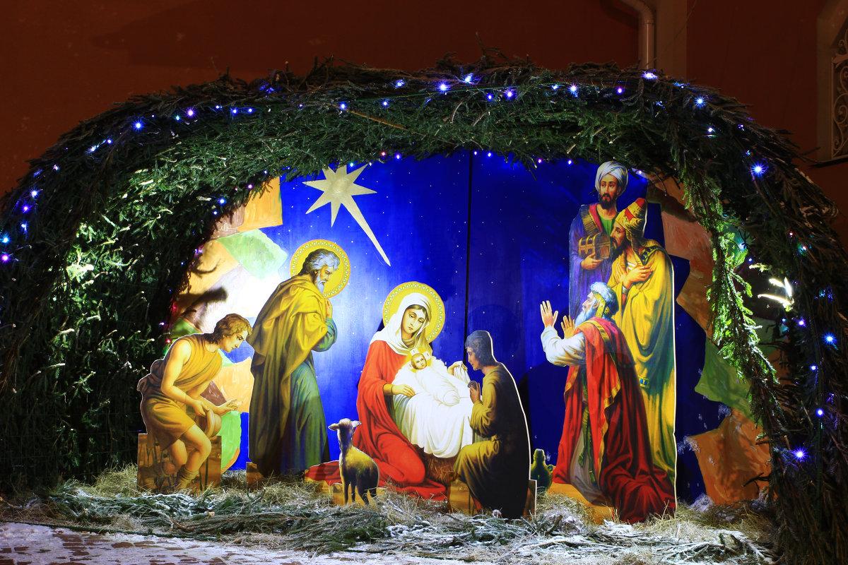Рождественский вертеп. - Иван