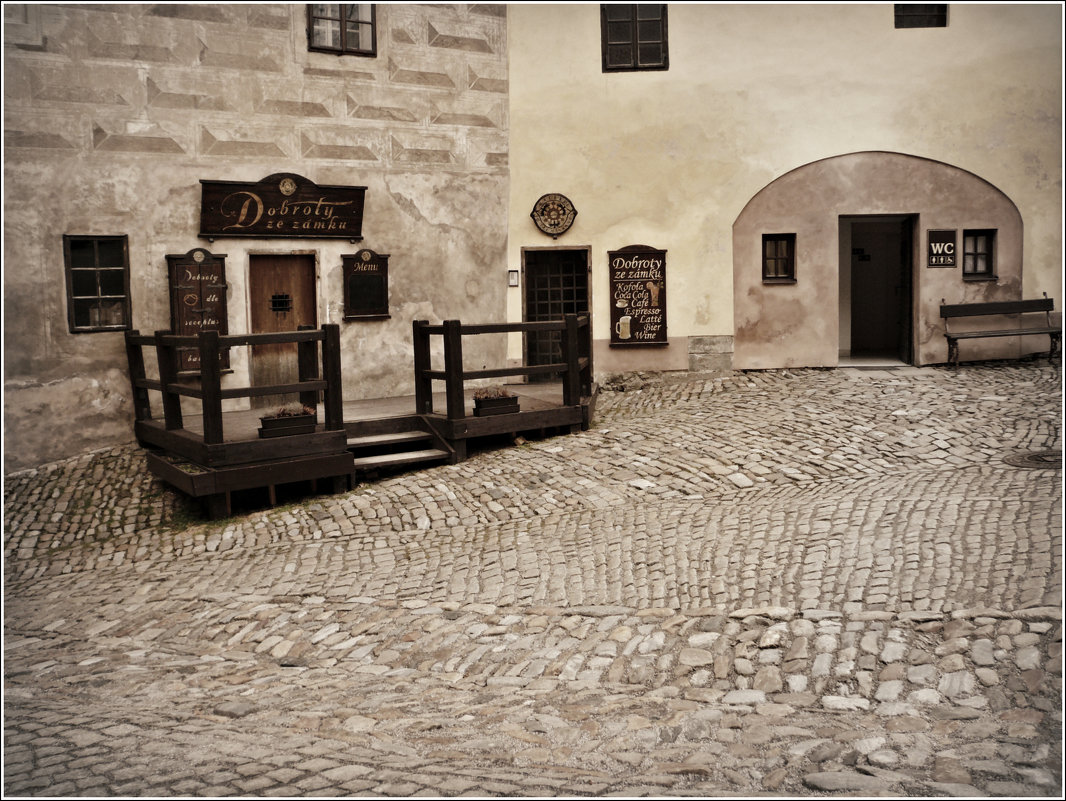 Český Krumlov - Galina Belugina