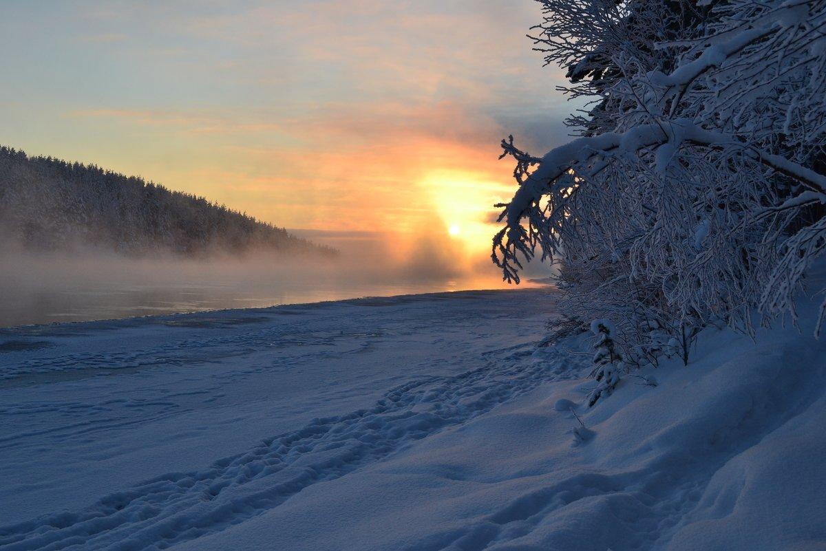Морозный туман - Ольга