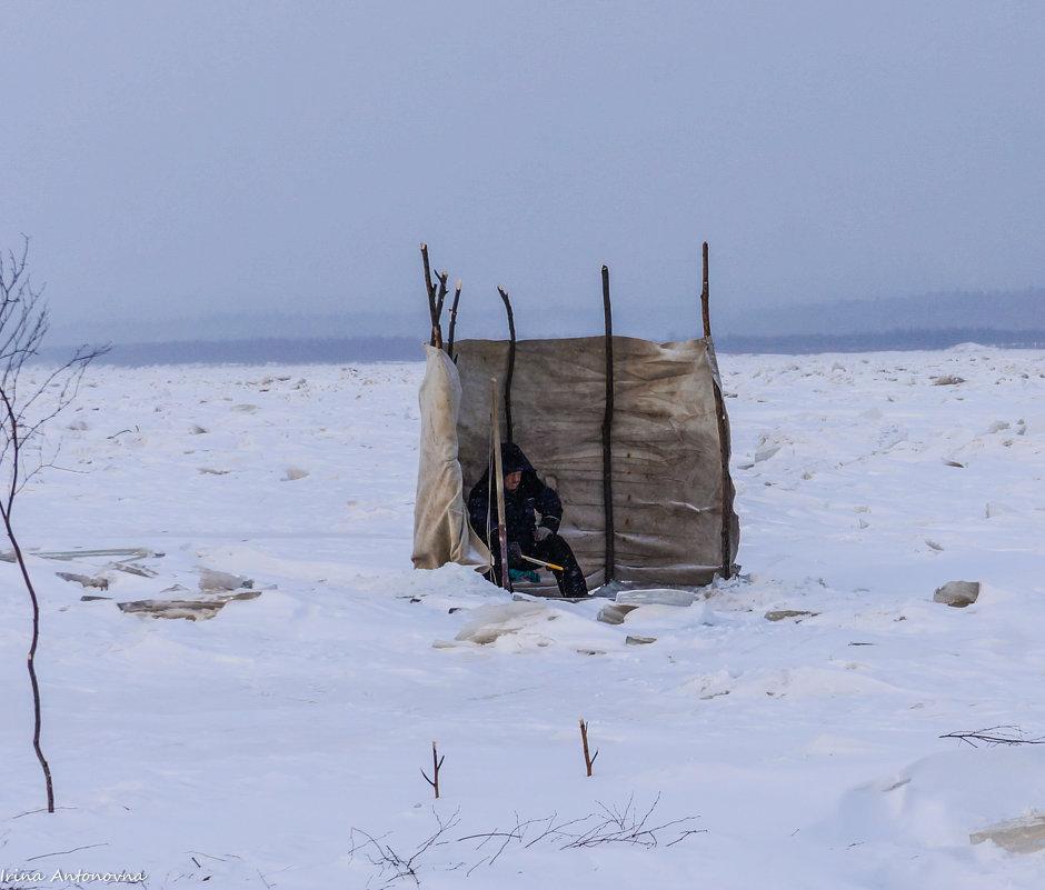 Зимняя рыбалка на Амуре! - Ирина Антоновна
