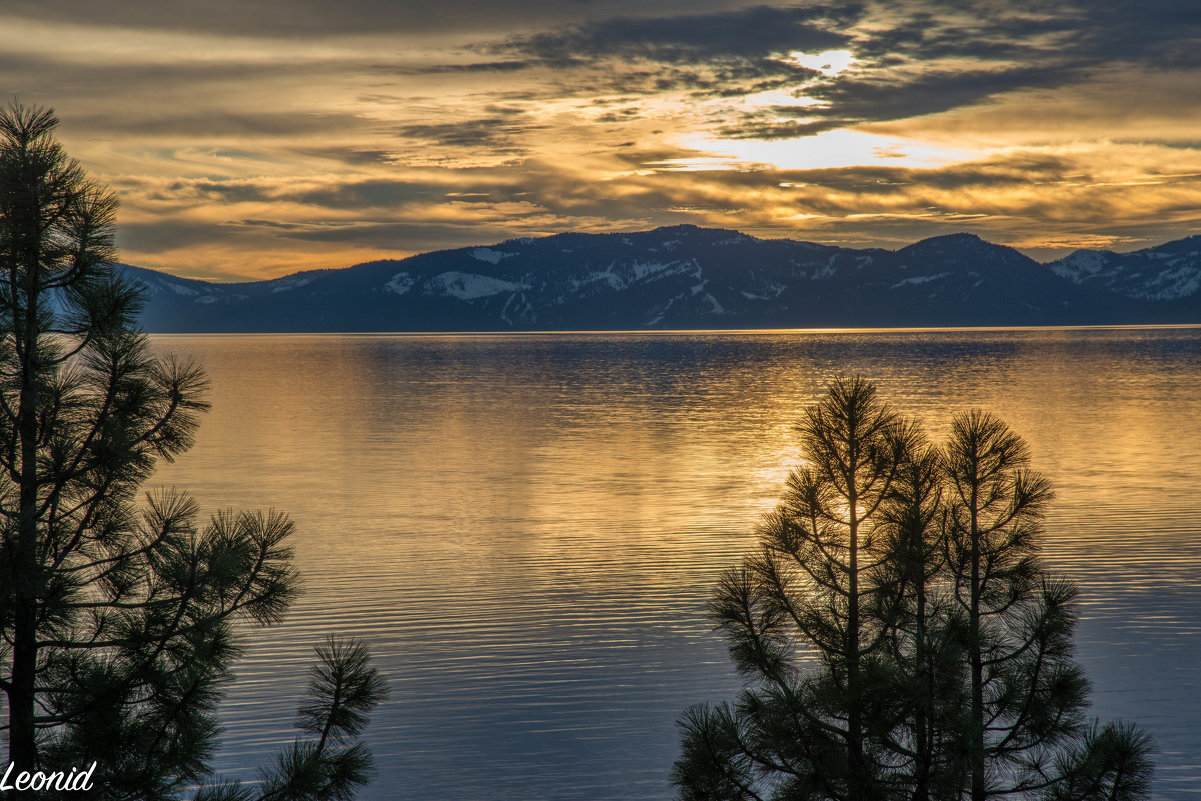 Lake Tahoe. - Leonid