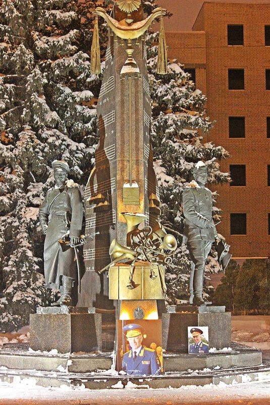 """Памятник""""  Капельмейстерам России"""" . - Виталий Селиванов"""