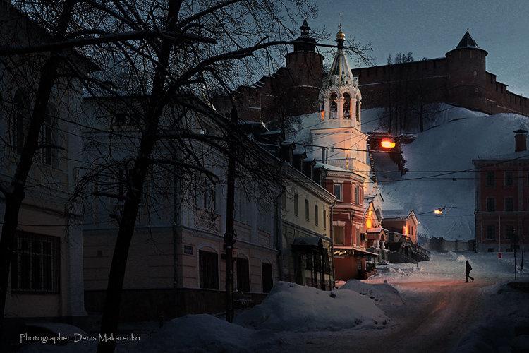 Чем гуще тьма, тем храм светлей в ночи - Denis Makarenko
