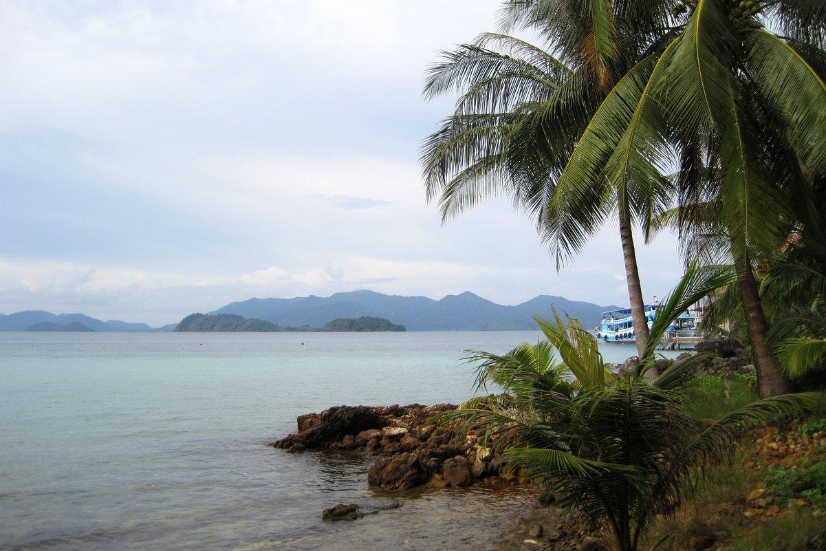 Вид на остров Ко Чанг с маленького островка-заповедника. - Лариса (Phinikia) Двойникова