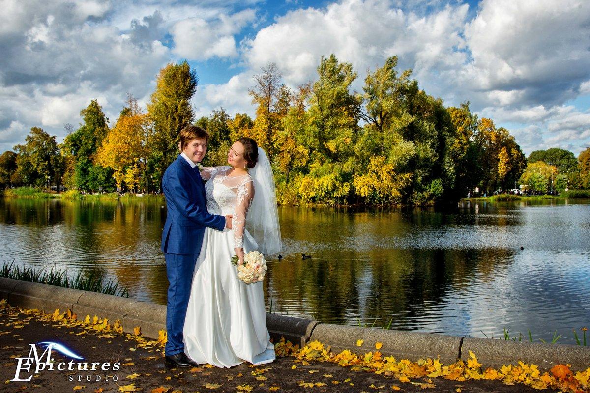 свадьба в октябре в парке горького - Егор Чеботаренко