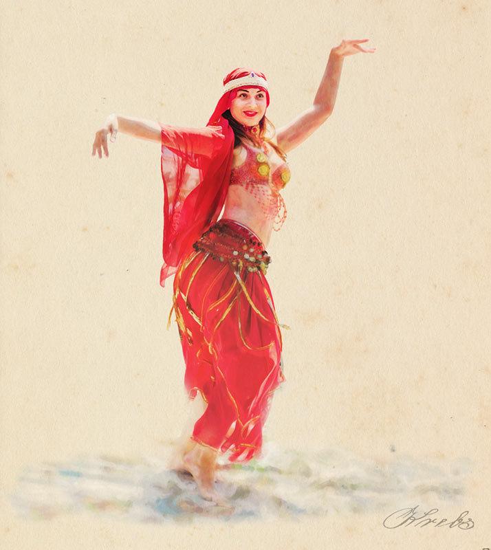 Танец акварель - Nn semonov_nn