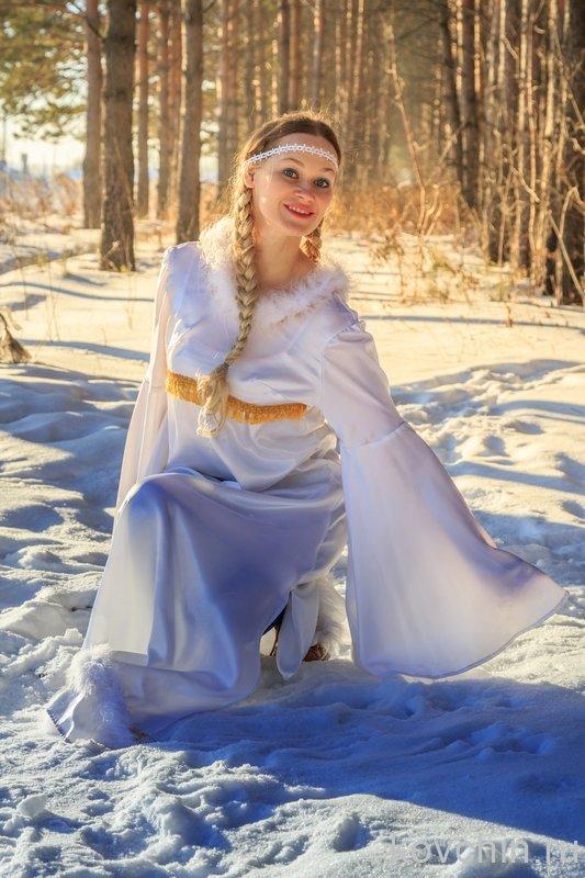 снегурочка в лесу - Виктор Ковчин
