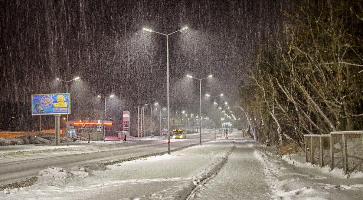 ночной снегопад - юрий иванов