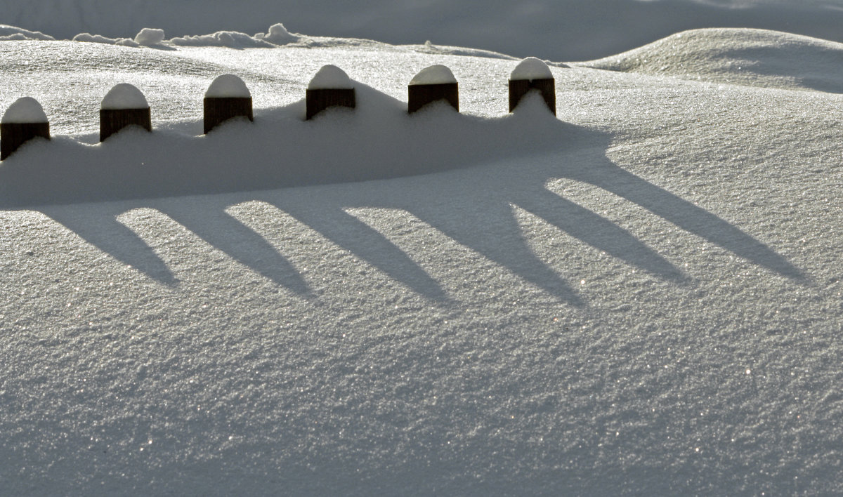 Снегу-то намело...... 8 января - Olenka