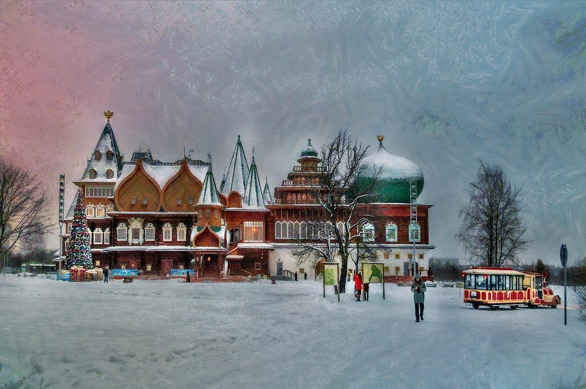 В Коломенском стоит такой дворец - Ирина Данилова
