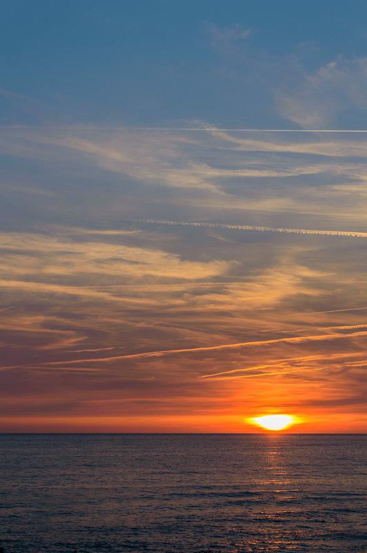 Балтийский закат - Октябрина ---