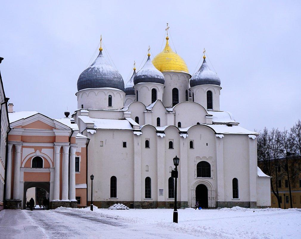 Софийский Собор - гордость Новгородского Кремля - Ольга Чистякова