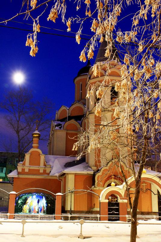 Храм на Рождество. - Иван