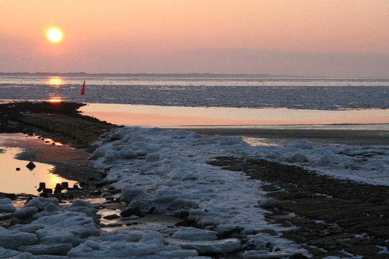 Зимний закат на Норденей - Kapris VS
