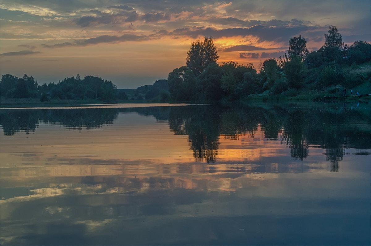 На закате - Лариса Березуцкая