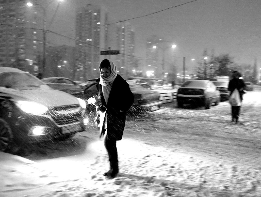 ненастный вечер - Михаил Зобов