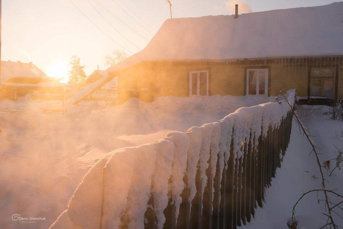 Морозное утро - Денис Шевчук