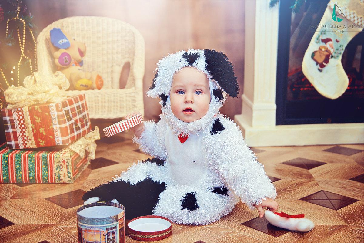 Детская фотосессия в студии - марина алексеева