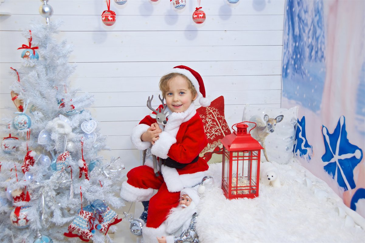 Детская новогодняя фотосессия - марина алексеева