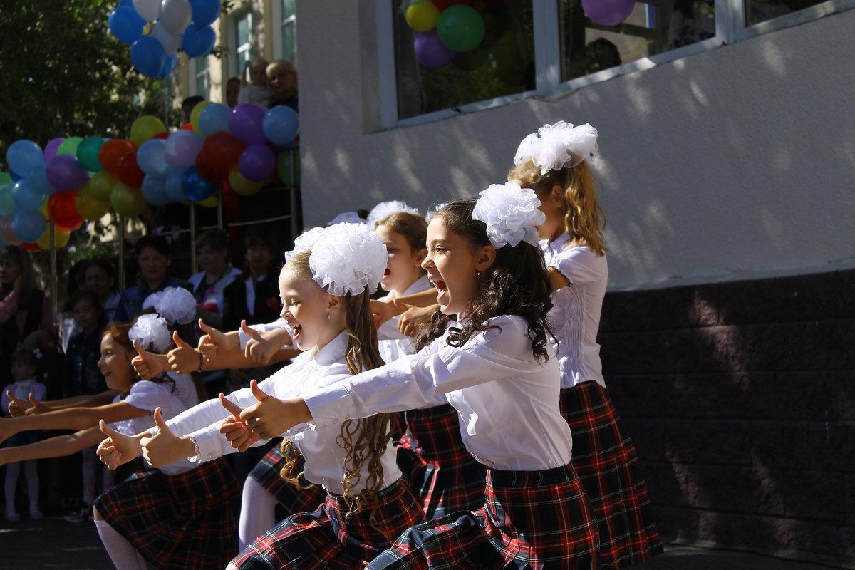 1-е сентября - это классный праздник - astanafoto kazakhstan