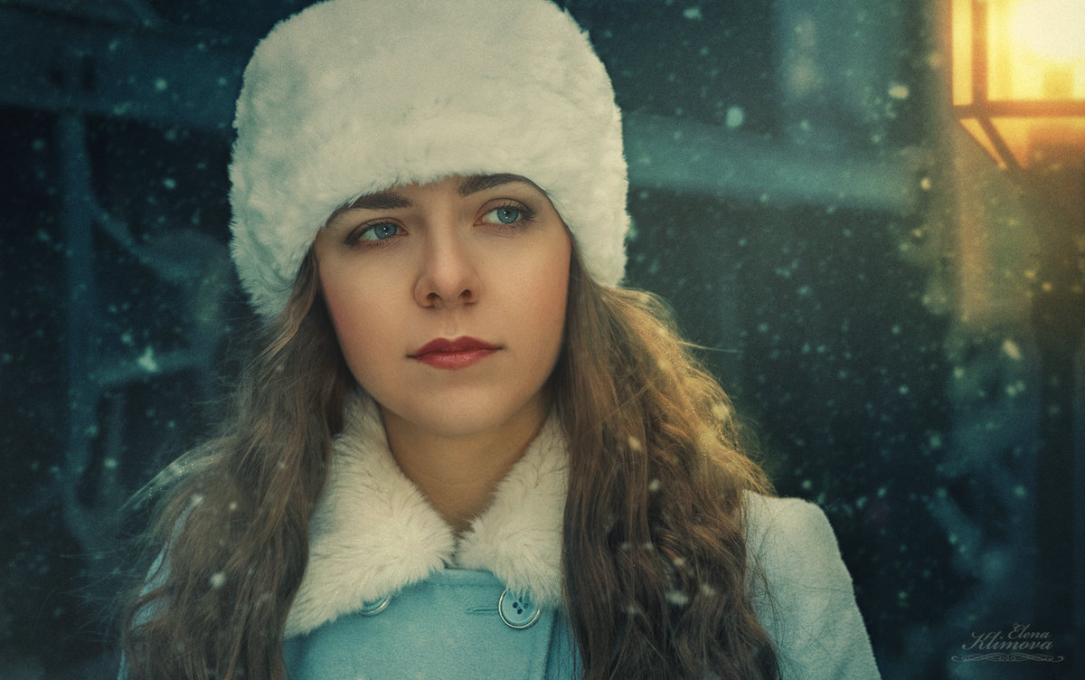 Как я тебя ждала в тот хмурый зимний вечер... - Elena Klimova