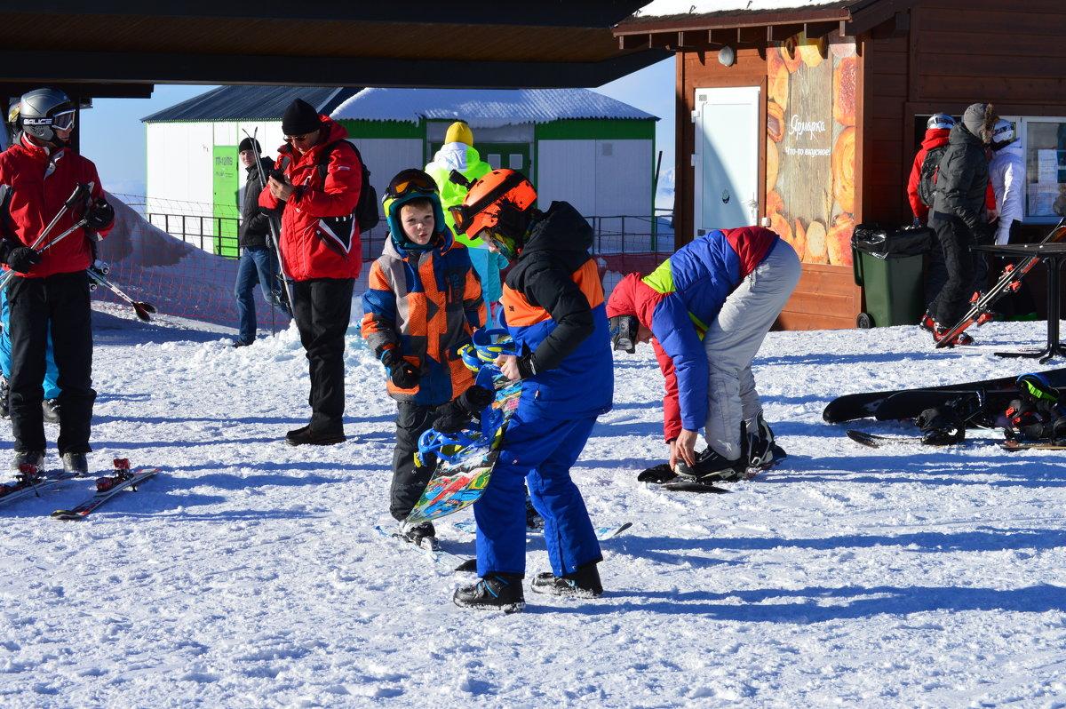 Лыжам все возрасты покорны! - надежда