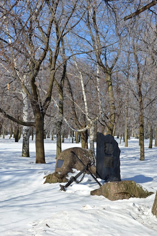 Памятник героям Цусимского сражения - Ольга