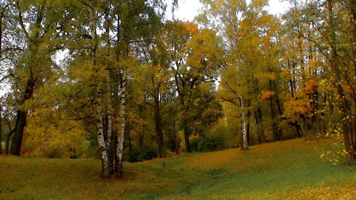 Александрия. Осень. - Владимир Ильич Батарин
