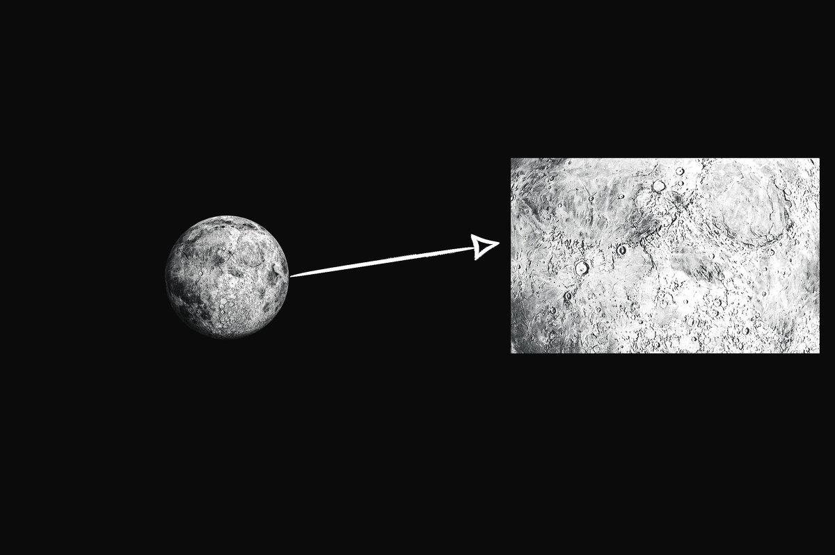 Наблюдение за луной - Никита