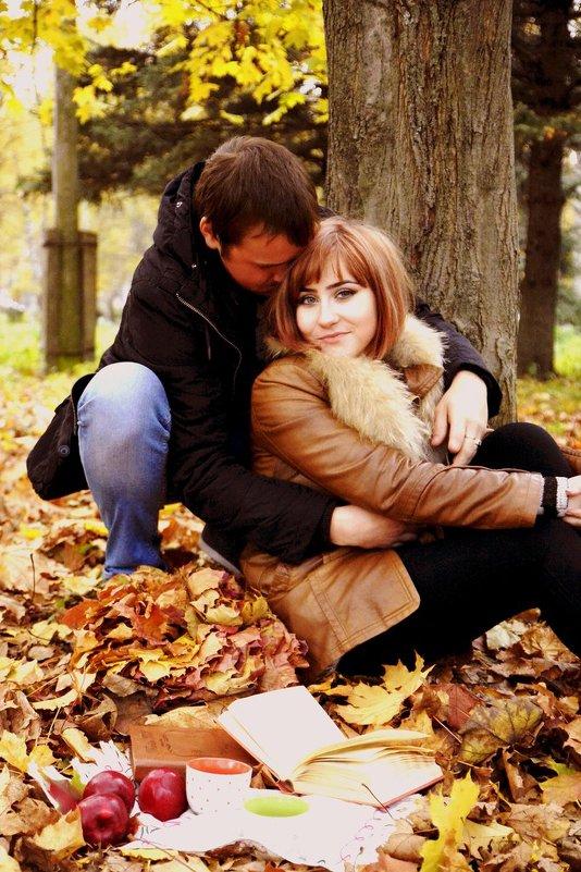 Двое в парке - Любовь
