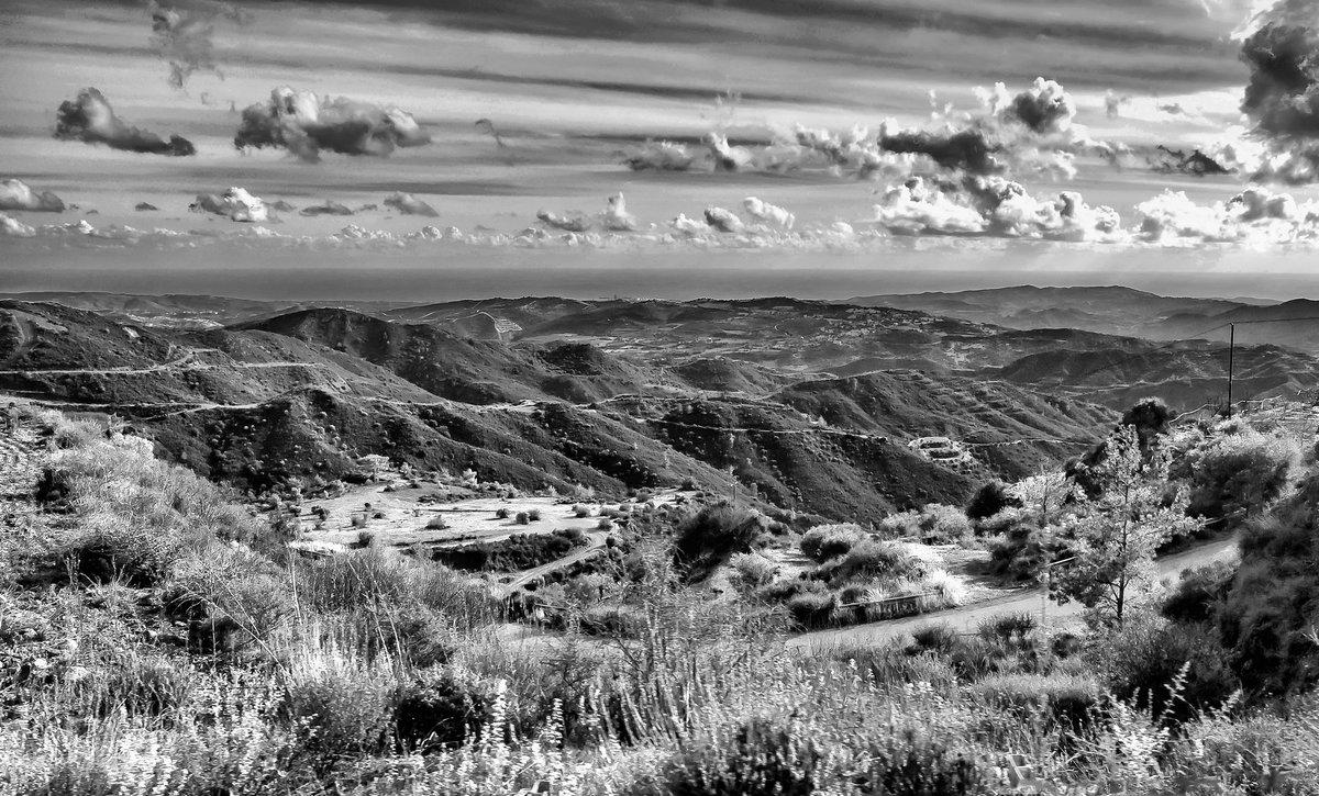 Кипр, горы, пейзаж - Виталий Авакян