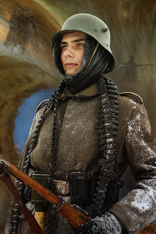 мушкетёр 45-го пехотного полка. - . vvv .
