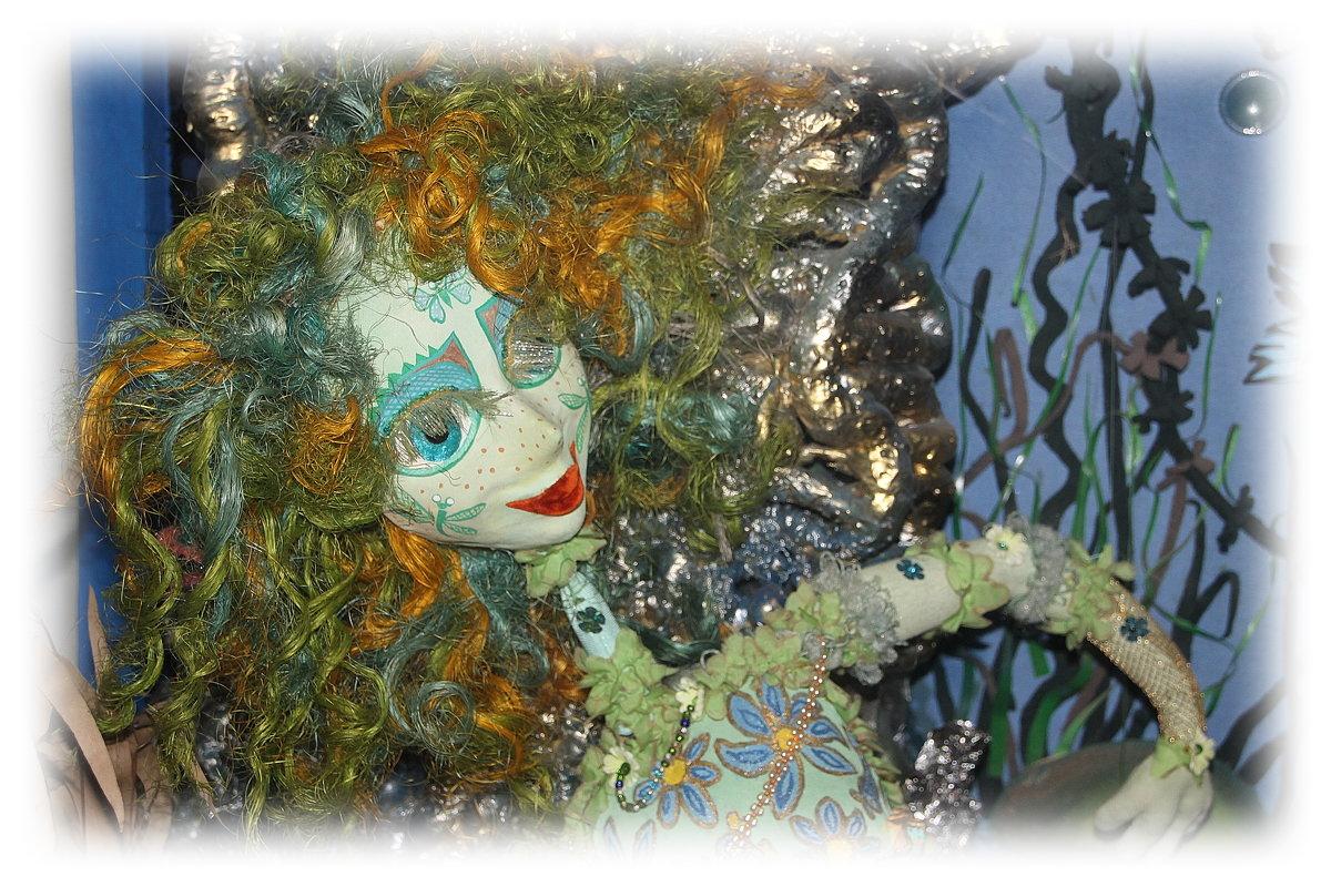 А вот и ветви..и русалка....все так, как Пушкин рассказал.... - Tatiana Markova