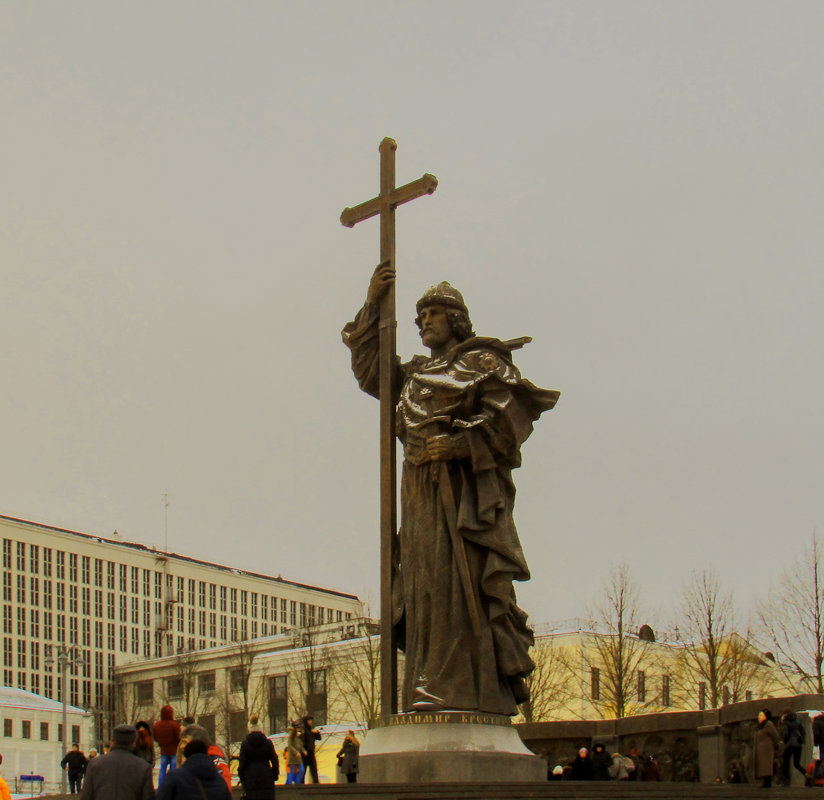 Памятник Владимиру Крестителю - Татьяна Осипова(Deni2048)