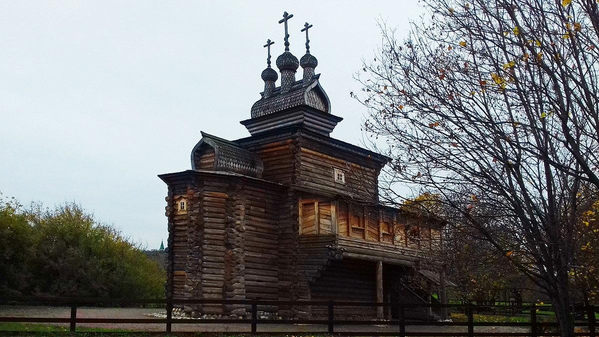 Церковь Святого Георгия из Архангельской области - Николай Дони